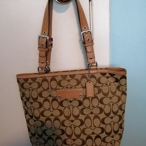 Signature Coach Tote Bag